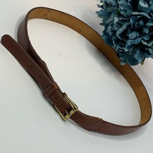 The GAP genuine leather belt. Used
